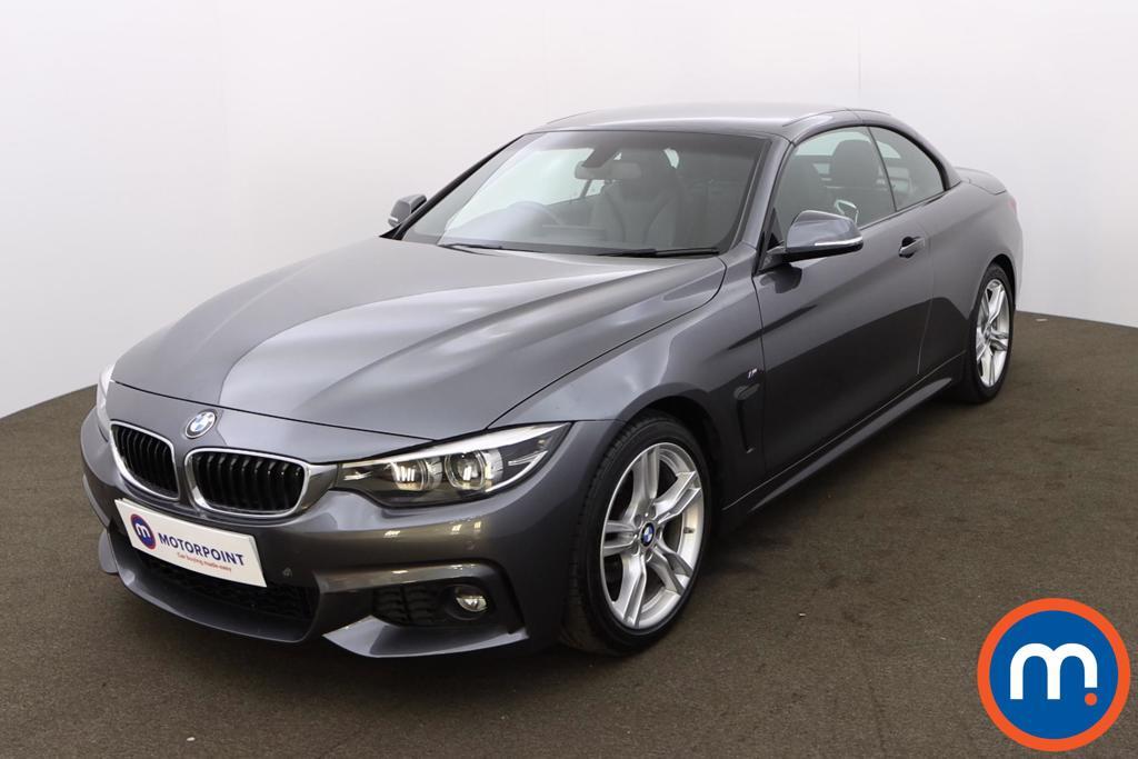 BMW 4 Series 420i M Sport 2dr Auto [Professional Media] - Stock Number 1216044 Passenger side front corner