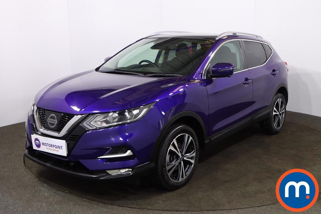 Nissan Qashqai 1.5 dCi N-Connecta [Glass Roof Pack] 5dr - Stock Number 1216315 Passenger side front corner