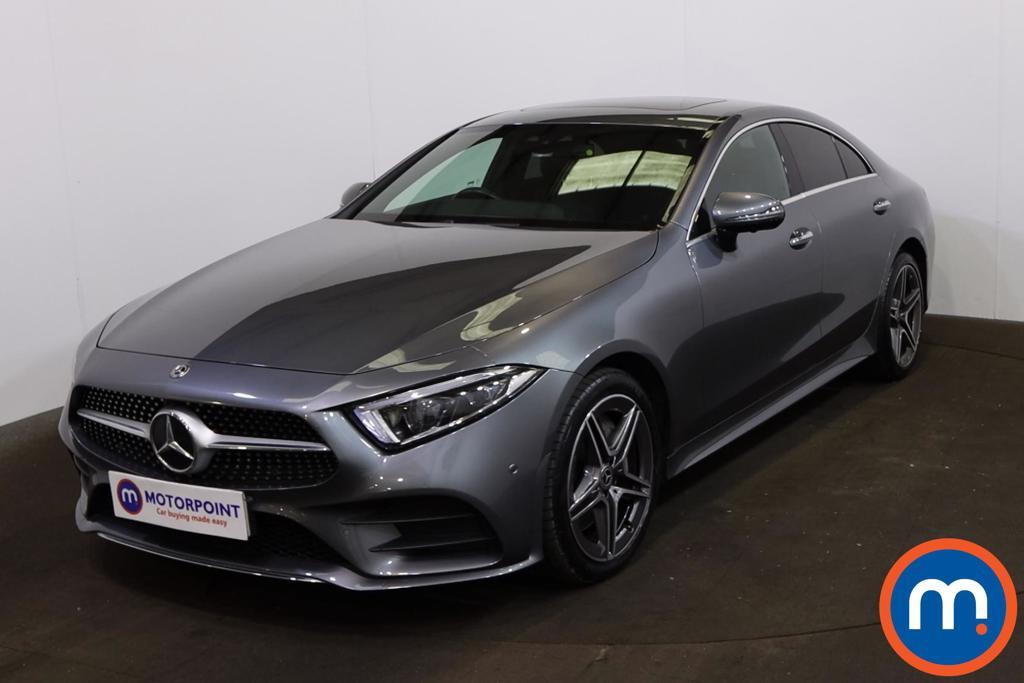 Mercedes-Benz CLS CLS 350d 4Matic AMG Line Premium -Plus 4dr 9G-Tronic - Stock Number 1216393 Passenger side front corner