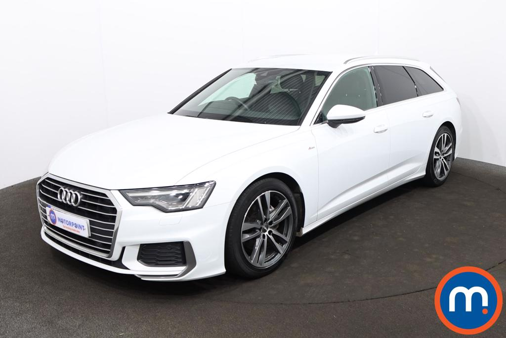 Audi A6 40 TDI S Line 5dr S Tronic [Tech Pack] - Stock Number 1218570 Passenger side front corner