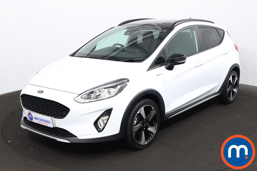 Ford Fiesta 1.0 EcoBoost Active B-PlusO Play 5dr - Stock Number 1219537 Passenger side front corner