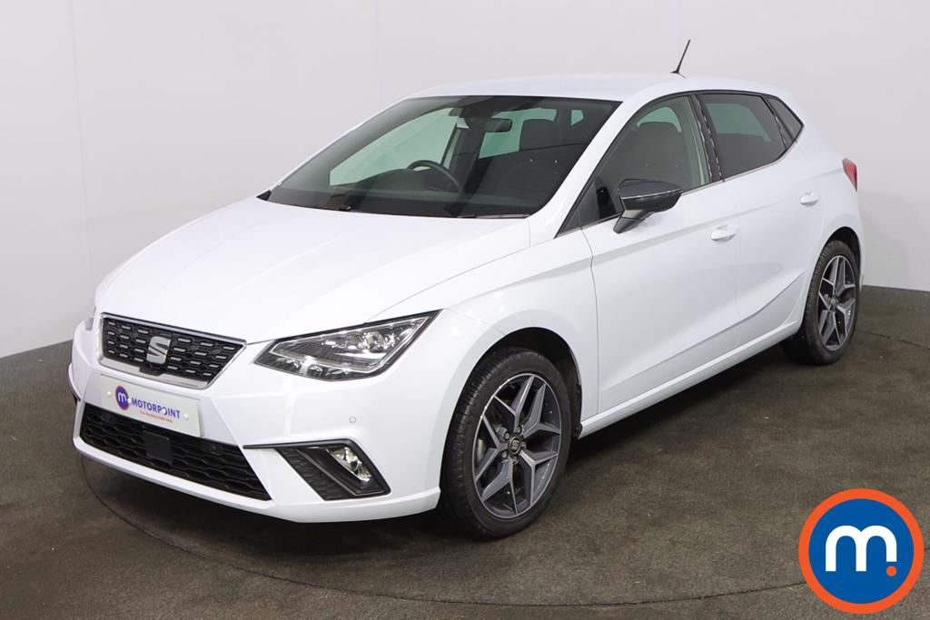 Seat Ibiza 1.0 TSI 110 Xcellence Lux [EZ] 5dr - Stock Number 1216402 Passenger side front corner