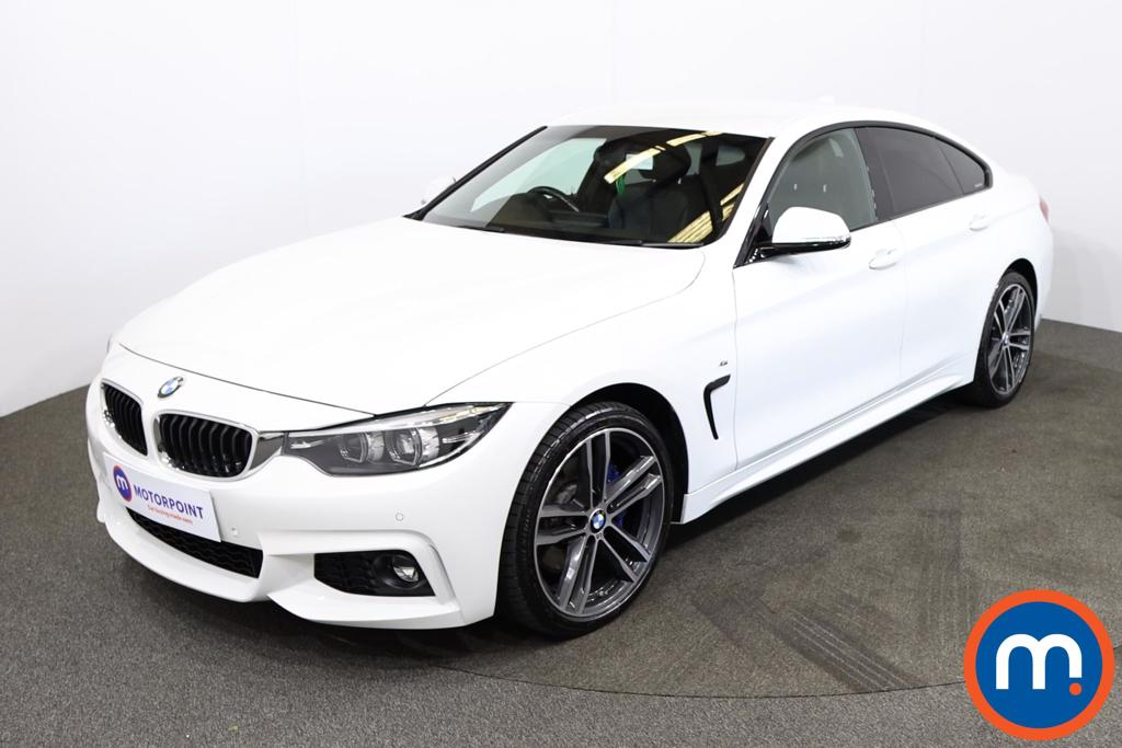 BMW 4 Series 420d [190] xDrive M Sport 5dr Auto [Prof Media] - Stock Number 1217058 Passenger side front corner