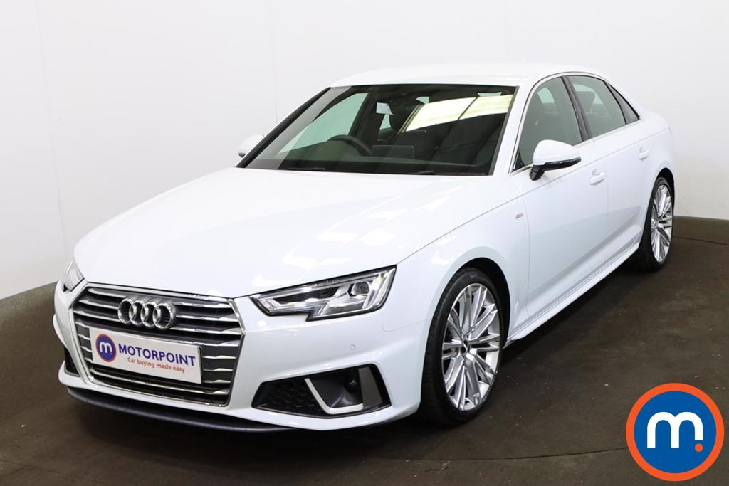 Audi A4 35 TDI S Line 4dr S Tronic [Tech Pack] - Stock Number 1218638 Passenger side front corner