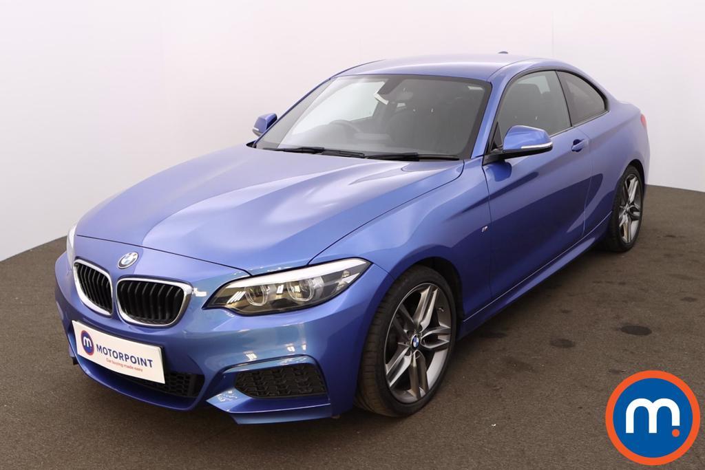 BMW 2 Series 218i M Sport 2dr [Nav] Step Auto - Stock Number 1218683 Passenger side front corner