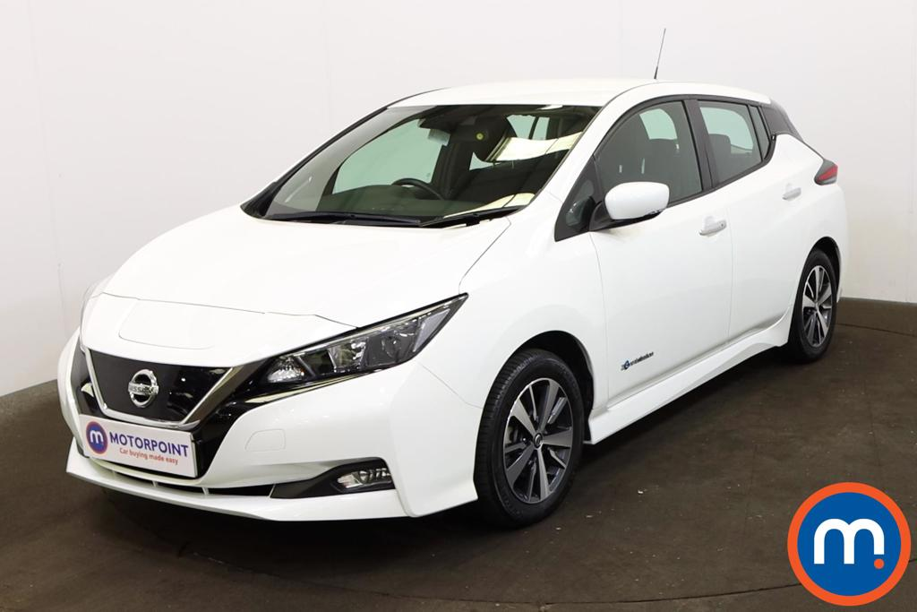 Nissan Leaf 110kW Acenta 40kWh 5dr Auto - Stock Number 1218927 Passenger side front corner