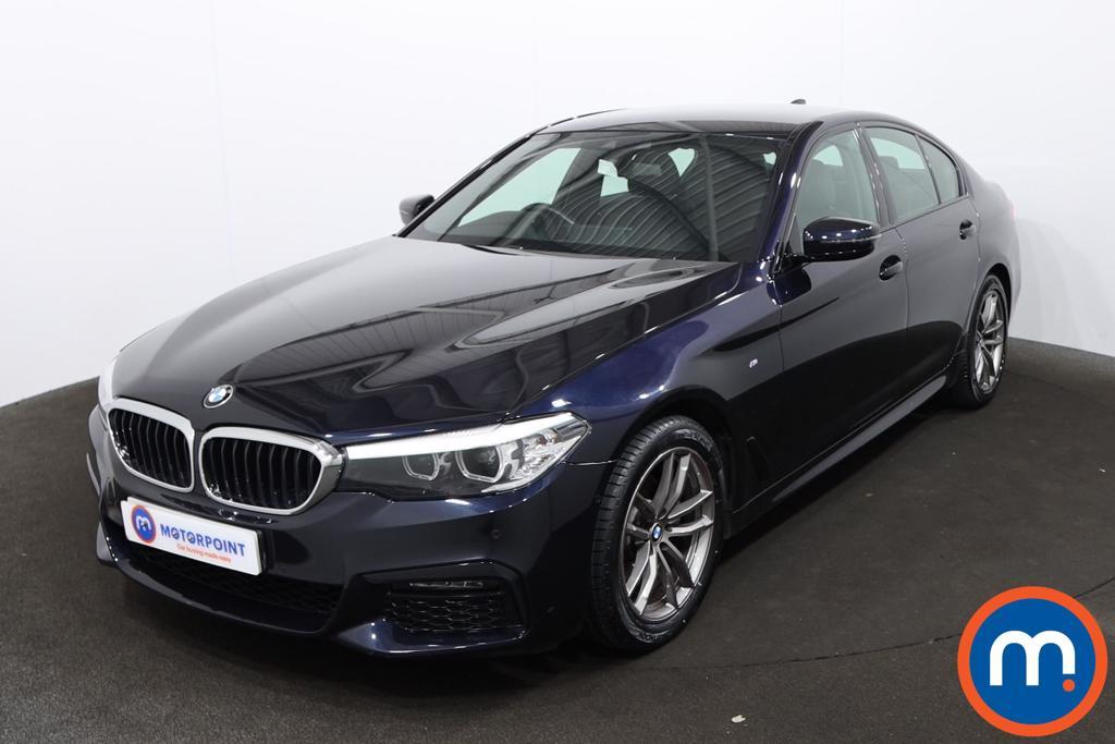 BMW 5 Series 520d M Sport 4dr Auto - Stock Number 1219208 Passenger side front corner