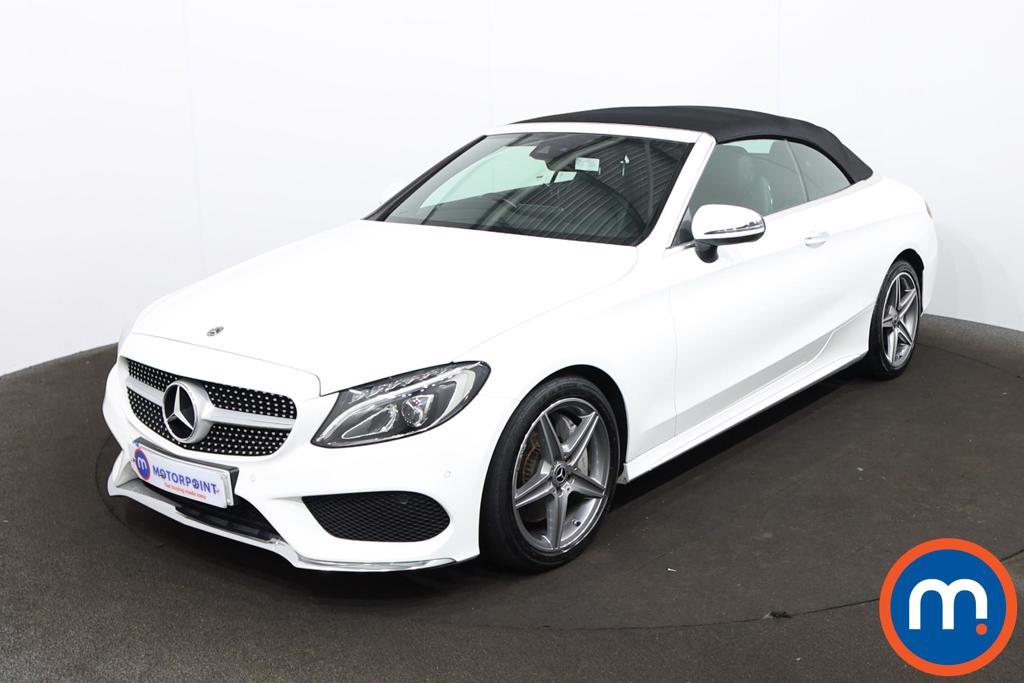 Mercedes-Benz C Class C250d AMG Line Premium Plus 2dr Auto - Stock Number 1220760 Passenger side front corner