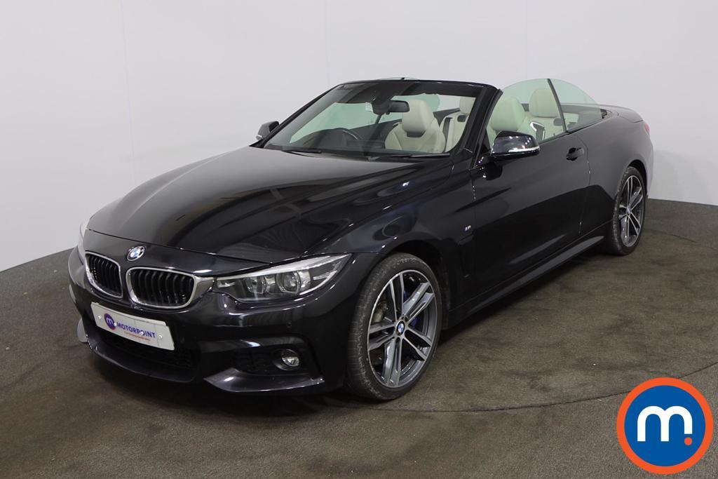 BMW 4 Series 435d xDrive M Sport 2dr Auto [Professional Media] - Stock Number 1217649 Passenger side front corner