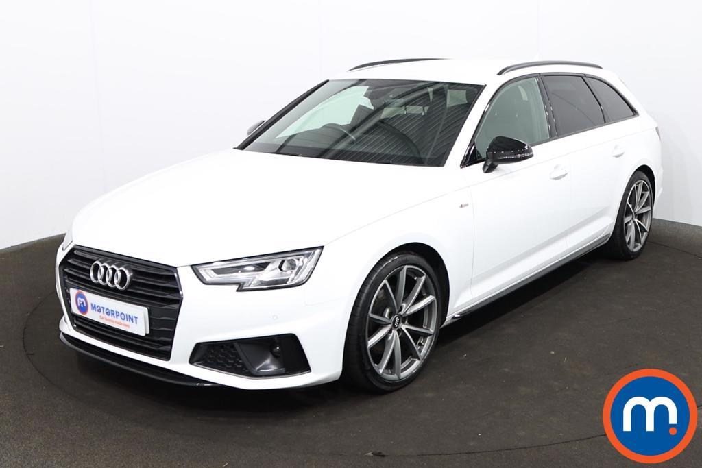 Audi A4 35 TFSI Black Edition 5dr S Tronic - Stock Number 1218948 Passenger side front corner
