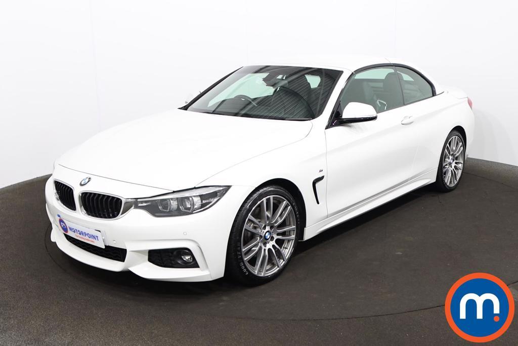 BMW 4 Series 430i M Sport 2dr Auto [Professional Media] - Stock Number 1219293 Passenger side front corner