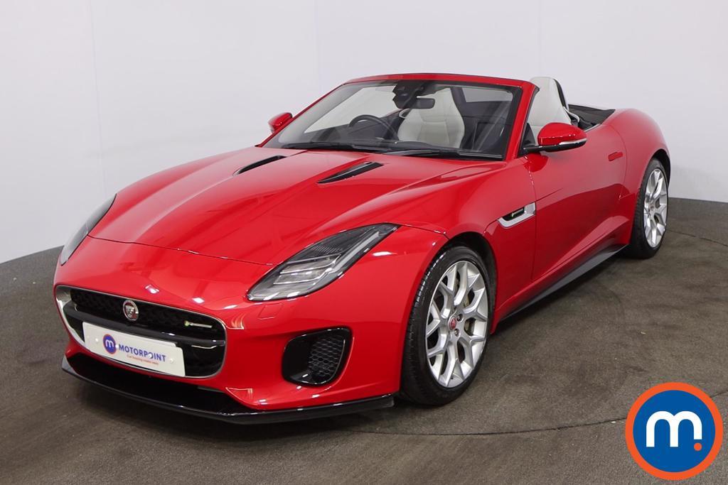 Jaguar F-Type 2.0 R-Dynamic 2dr Auto - Stock Number 1220034 Passenger side front corner