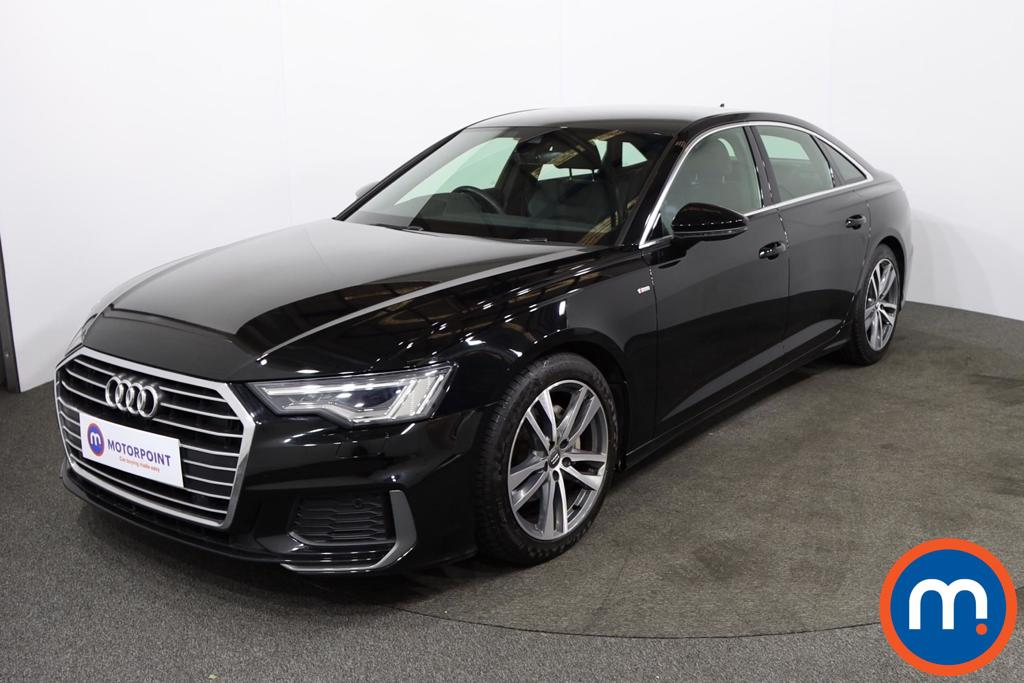 Audi A6 40 TDI S Line 4dr S Tronic [Tech Pack] - Stock Number 1201096 Passenger side front corner