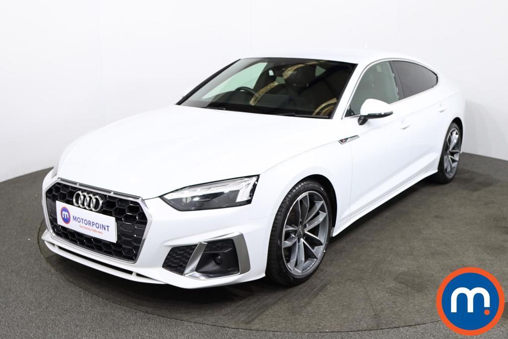 Audi A5 35 TDI S Line 5dr S Tronic - Stock Number 1217430 Passenger side front corner
