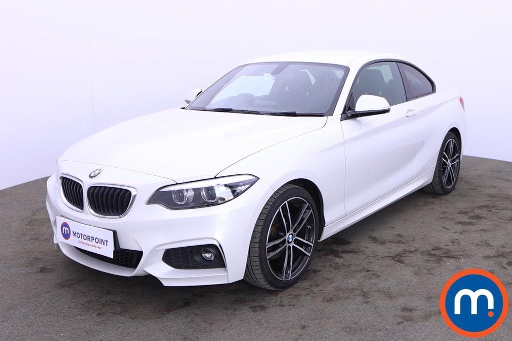 BMW 2 Series 218d M Sport 2dr [Nav] - Stock Number 1217835 Passenger side front corner