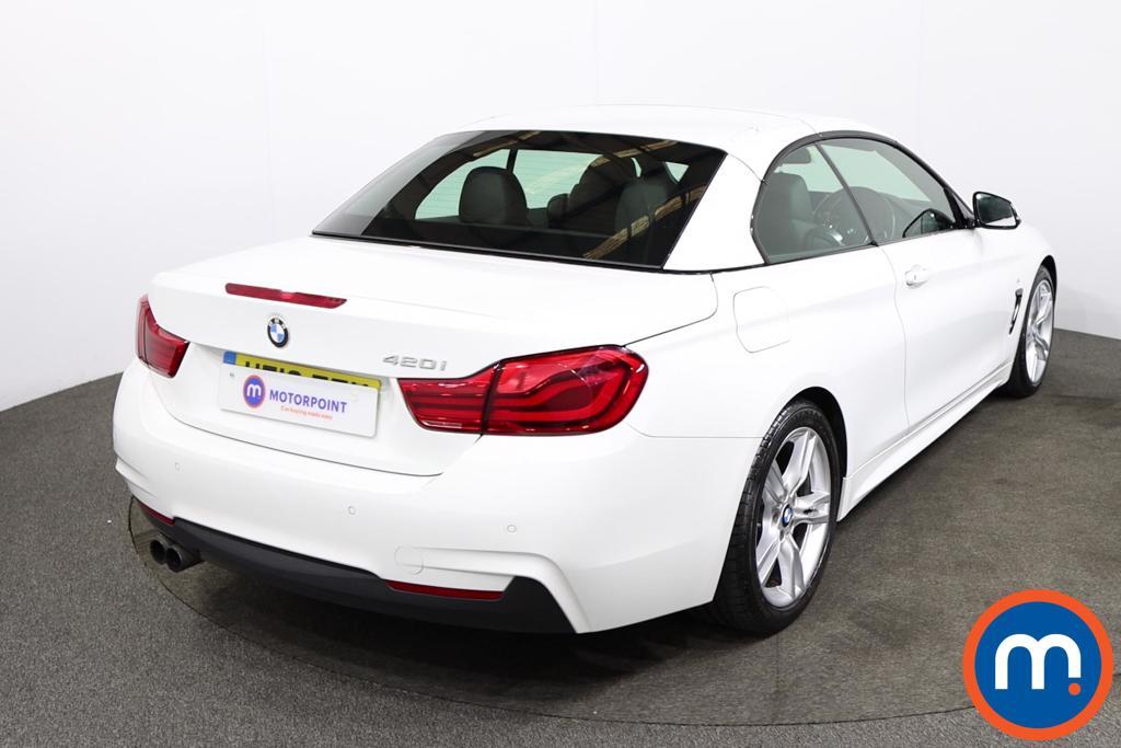 BMW 4 Series 420i M Sport 2dr Auto [Professional Media] - Stock Number 1218244 Passenger side front corner