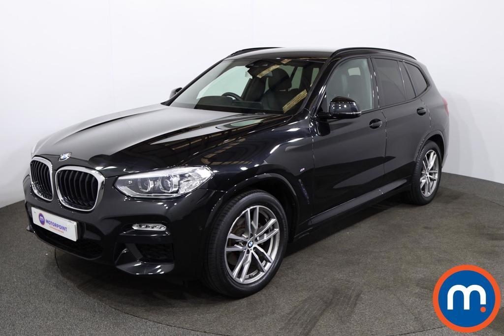 BMW X3 xDrive20d M Sport 5dr Step Auto - Stock Number 1218398 Passenger side front corner