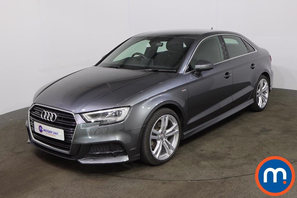 Audi A3 2.0 TDI 184 Quattro S Line 4dr S Tronic [7 Speed] - Stock Number 1218810 Passenger side front corner