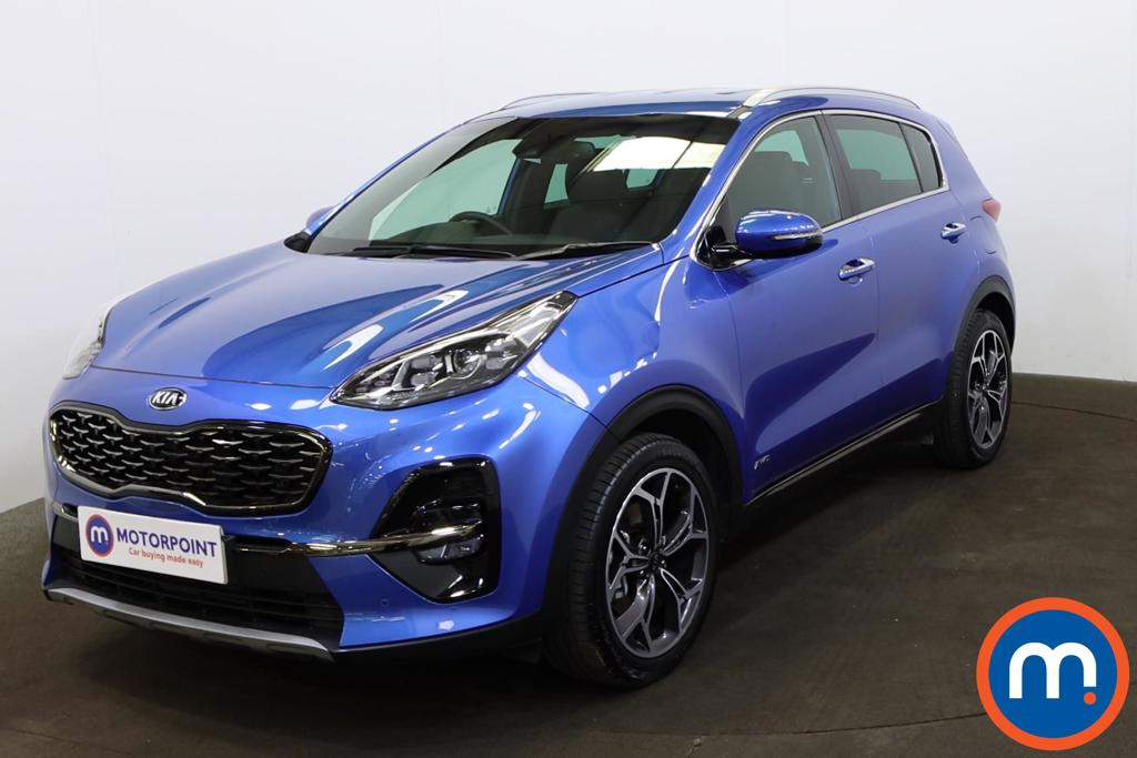 KIA Sportage 1.6T GDi ISG GT-Line 5dr DCT Auto [AWD] - Stock Number 1219318 Passenger side front corner