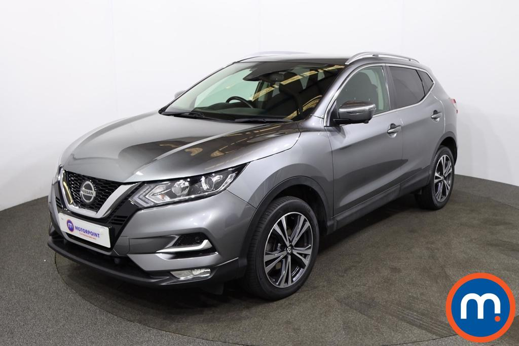Nissan Qashqai 1.5 dCi N-Connecta [Glass Roof Pack] 5dr - Stock Number 1219325 Passenger side front corner