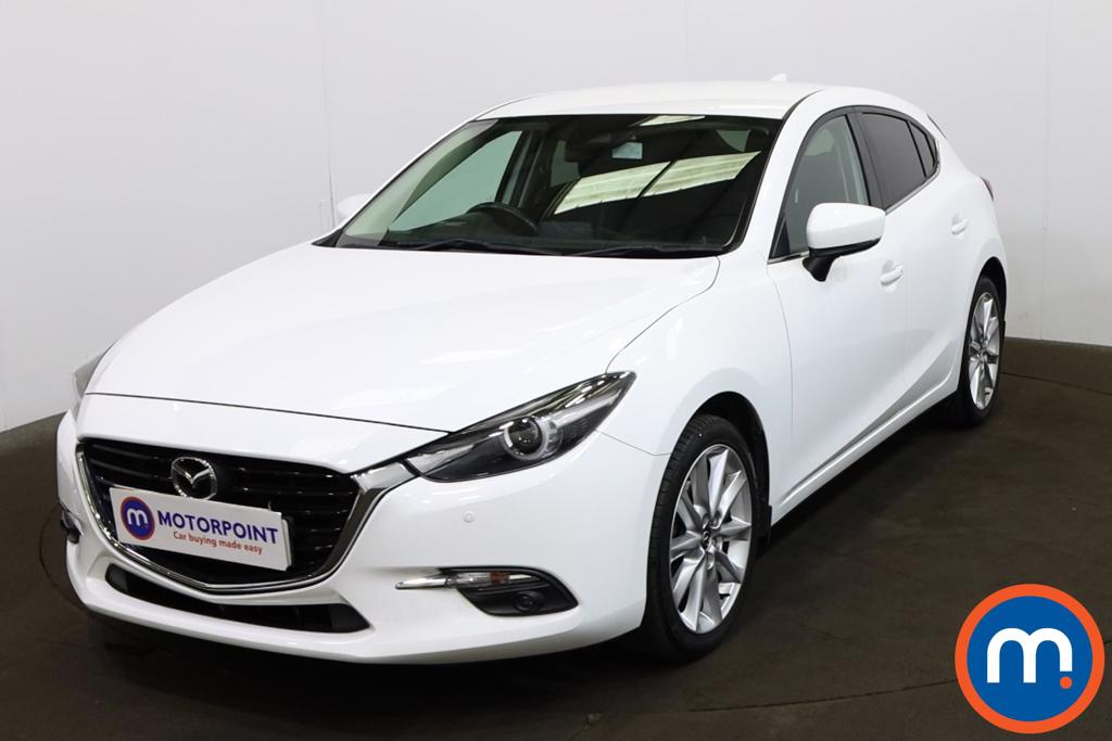 Mazda 3 2.0 Sport Nav 5dr - Stock Number 1219543 Passenger side front corner