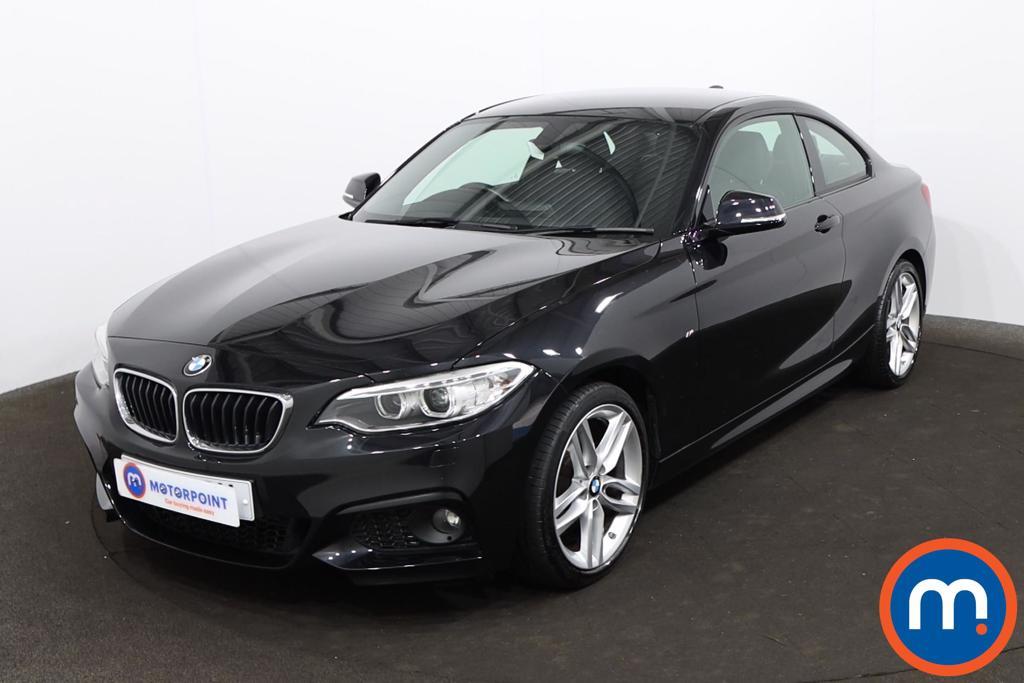 BMW 2 Series 218d [150] M Sport 2dr Step Auto [Nav] - Stock Number 1219589 Passenger side front corner