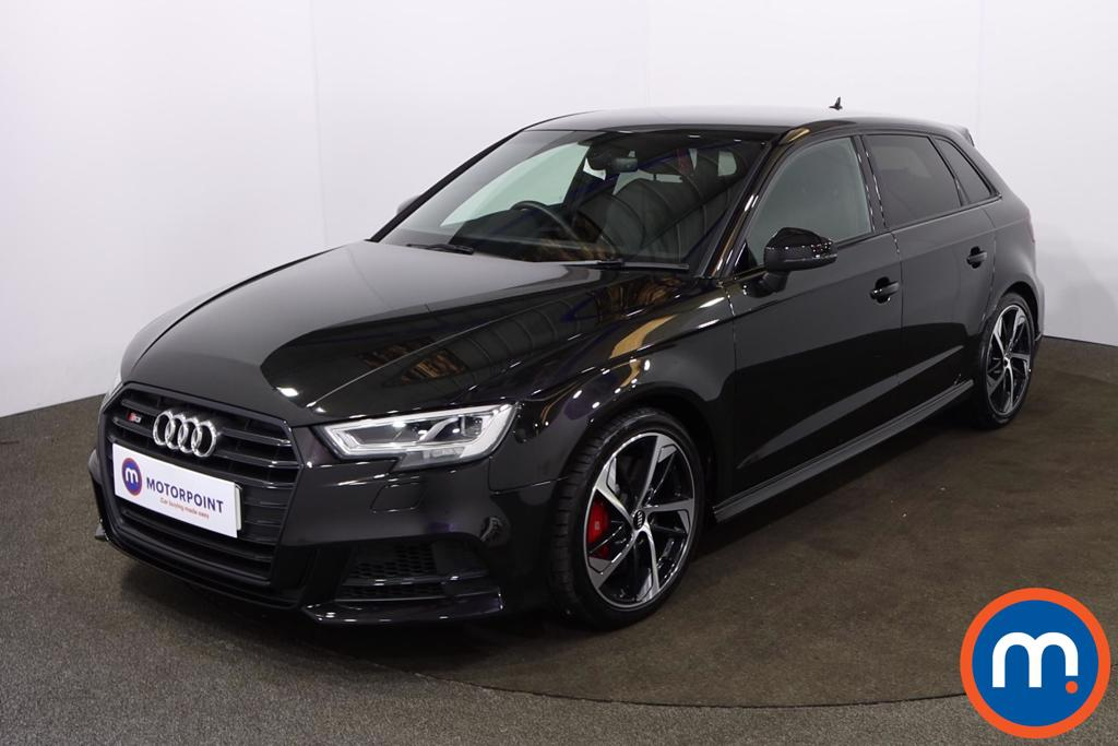 Audi A3 S3 TFSI 300 Quattro Black Edition 5dr S Tronic - Stock Number 1220003 Passenger side front corner