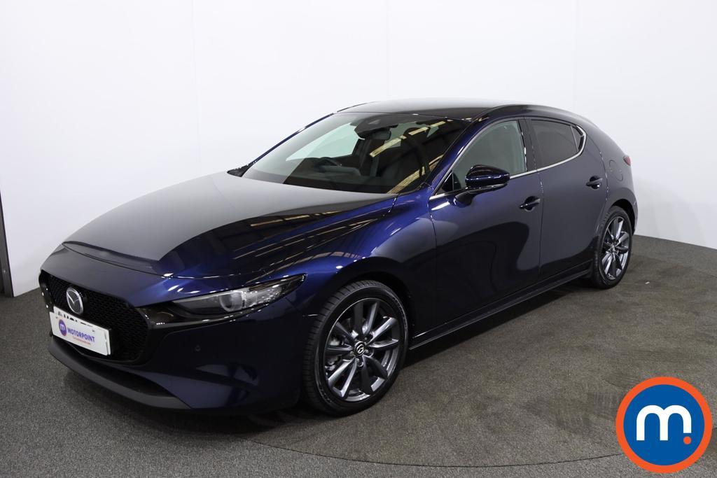 Mazda 3 2.0 e-Skyactiv G MHEV GT Sport Tech 5dr Auto - Stock Number 1220747 Passenger side front corner