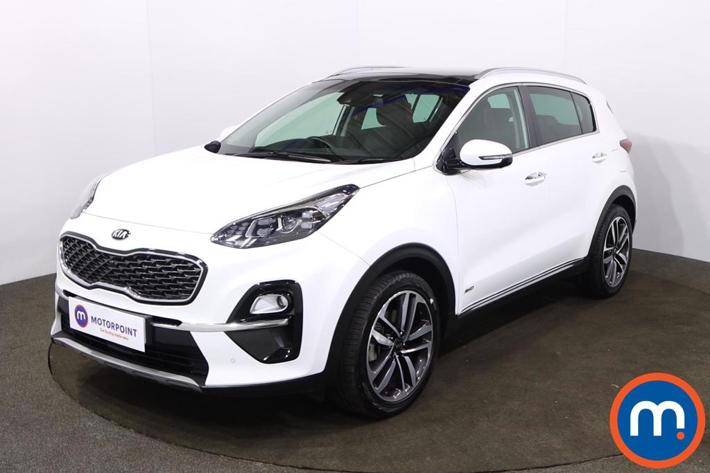 KIA Sportage 1.6T GDi ISG 4 5dr DCT Auto [AWD] - Stock Number 1216257 Passenger side front corner