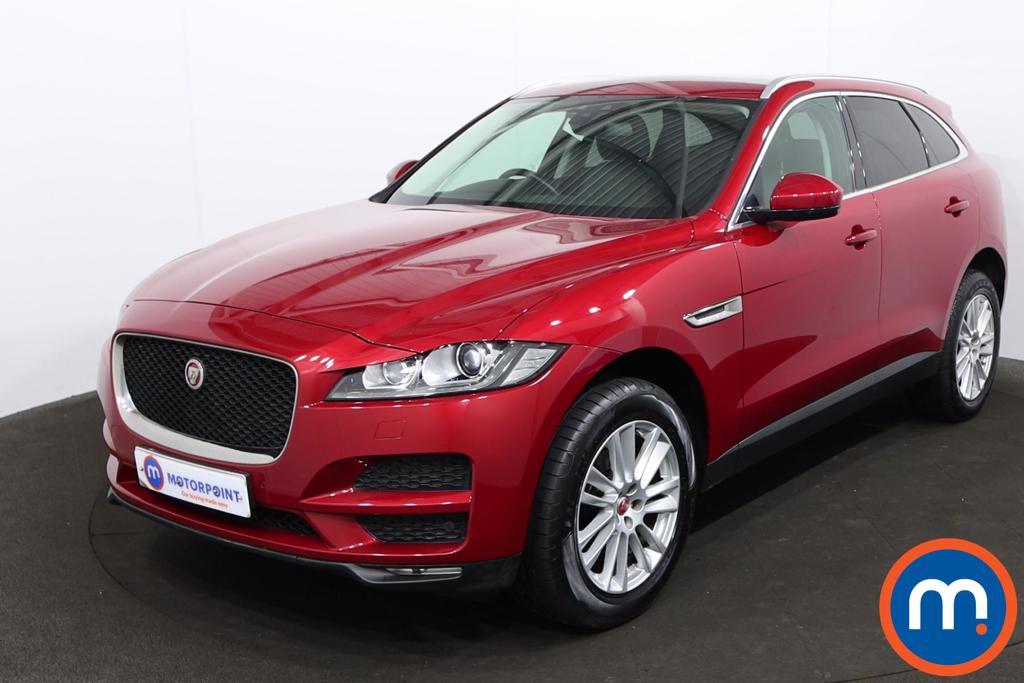 Jaguar F-Pace 2.0d Portfolio 5dr AWD - Stock Number 1220011 Passenger side front corner