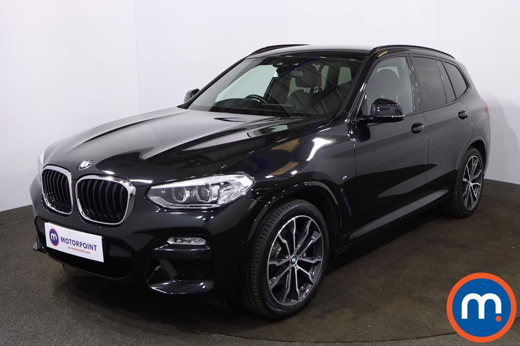BMW X3 xDrive20d M Sport 5dr Step Auto - Stock Number 1217541 Passenger side front corner