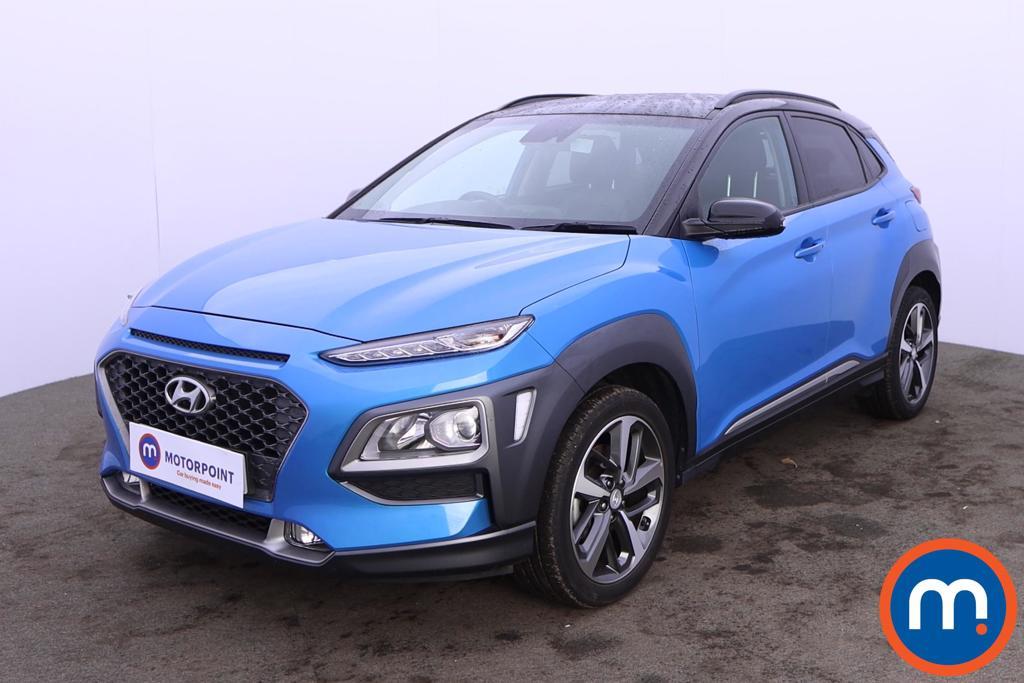 Hyundai Kona 1.0T GDi Blue Drive Premium 5dr - Stock Number 1217923 Passenger side front corner