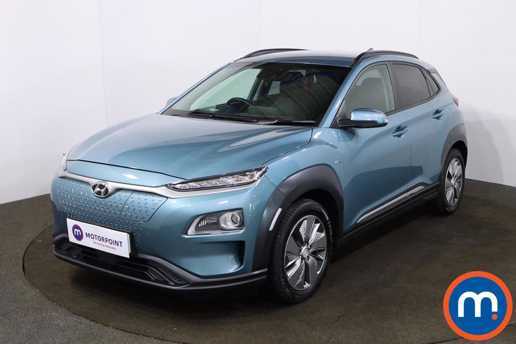 Hyundai Kona 150kW Premium SE 64kWh 5dr Auto - Stock Number 1220991 Passenger side front corner