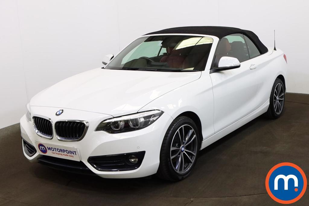 BMW 2 Series 218i Sport 2dr [Nav] - Stock Number 1215727 Passenger side front corner