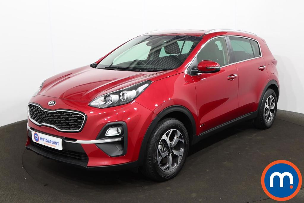 KIA Sportage 1.6T GDi ISG 2 5dr [AWD] - Stock Number 1215819 Passenger side front corner