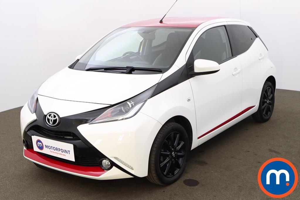 Toyota Aygo 1.0 VVT-i X-Press 5dr - Stock Number 1218662 Passenger side front corner