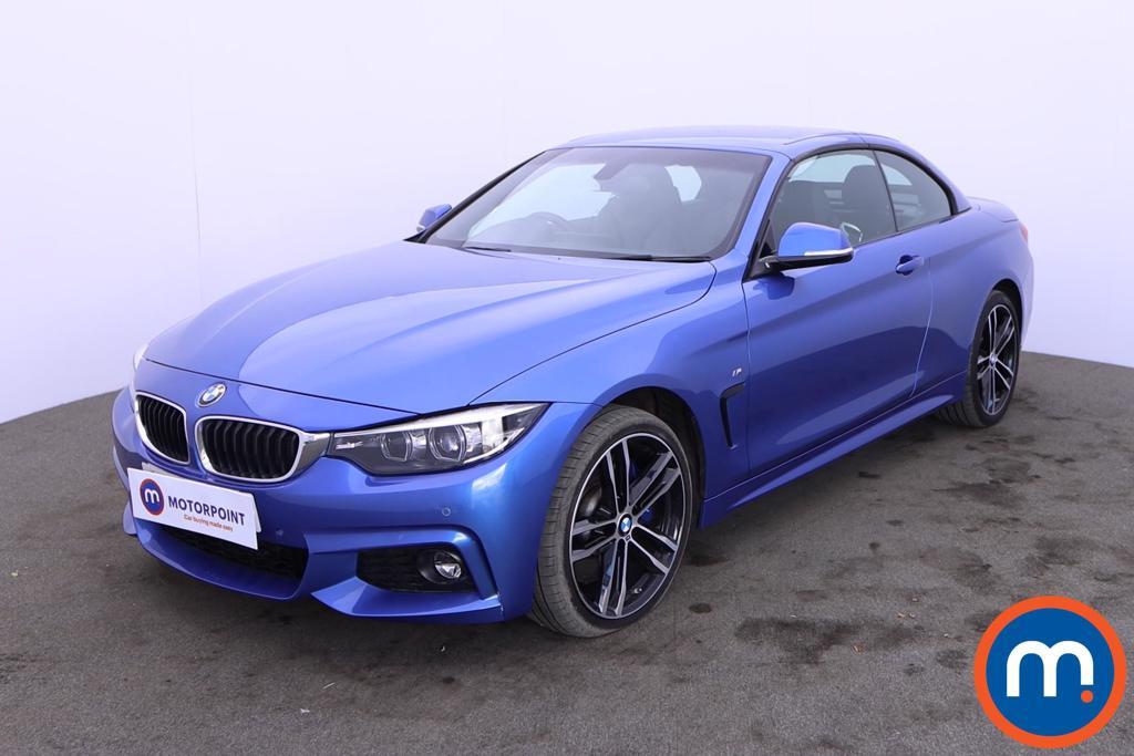BMW 4 Series 435d xDrive M Sport 2dr Auto [Professional Media] - Stock Number 1218691 Passenger side front corner
