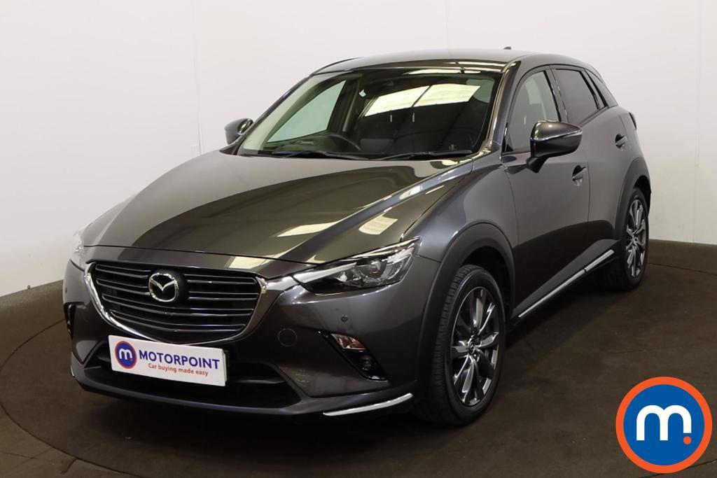 Mazda Cx-3 2.0 150 Sport Nav -Plus 5dr Auto AWD - Stock Number 1219541 Passenger side front corner