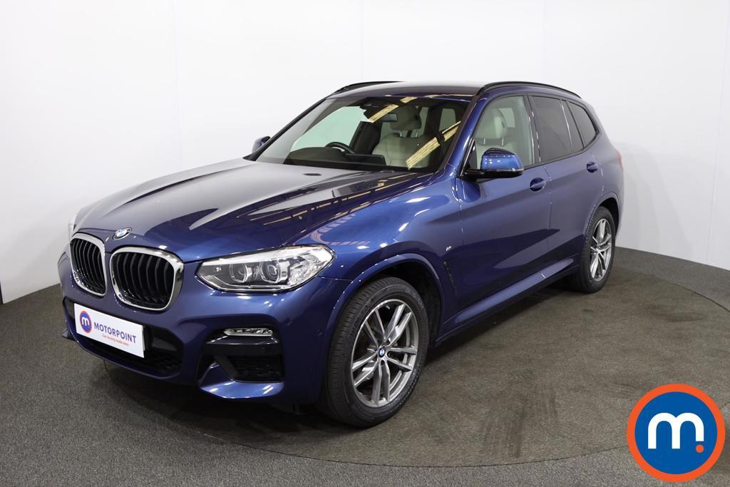 BMW X3 xDrive20d M Sport 5dr Step Auto - Stock Number 1219261 Passenger side front corner