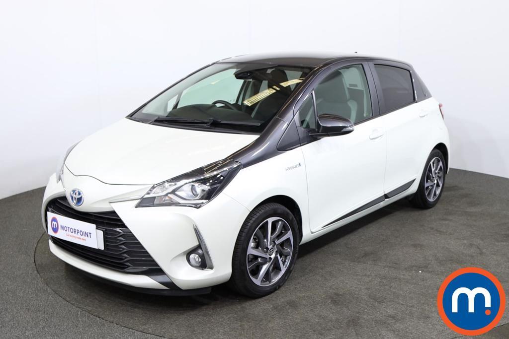 Toyota Yaris 1.5 Hybrid Y20 5dr CVT [Bi-tone] - Stock Number 1213964 Passenger side front corner