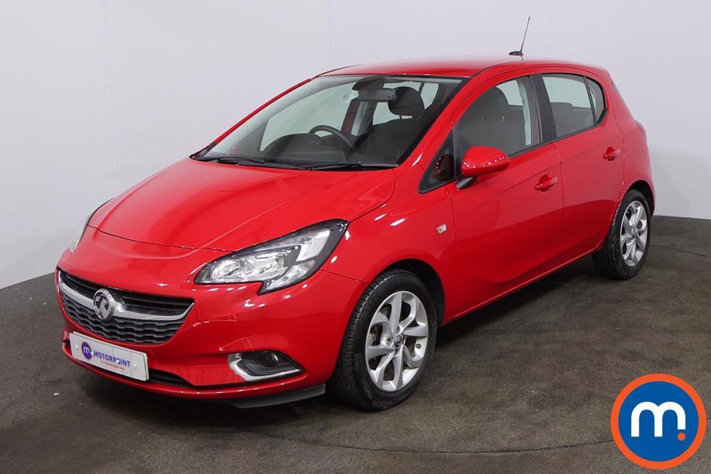 Vauxhall Corsa 1.4T [100] SRi Nav 5dr - Stock Number 1219611 Passenger side front corner