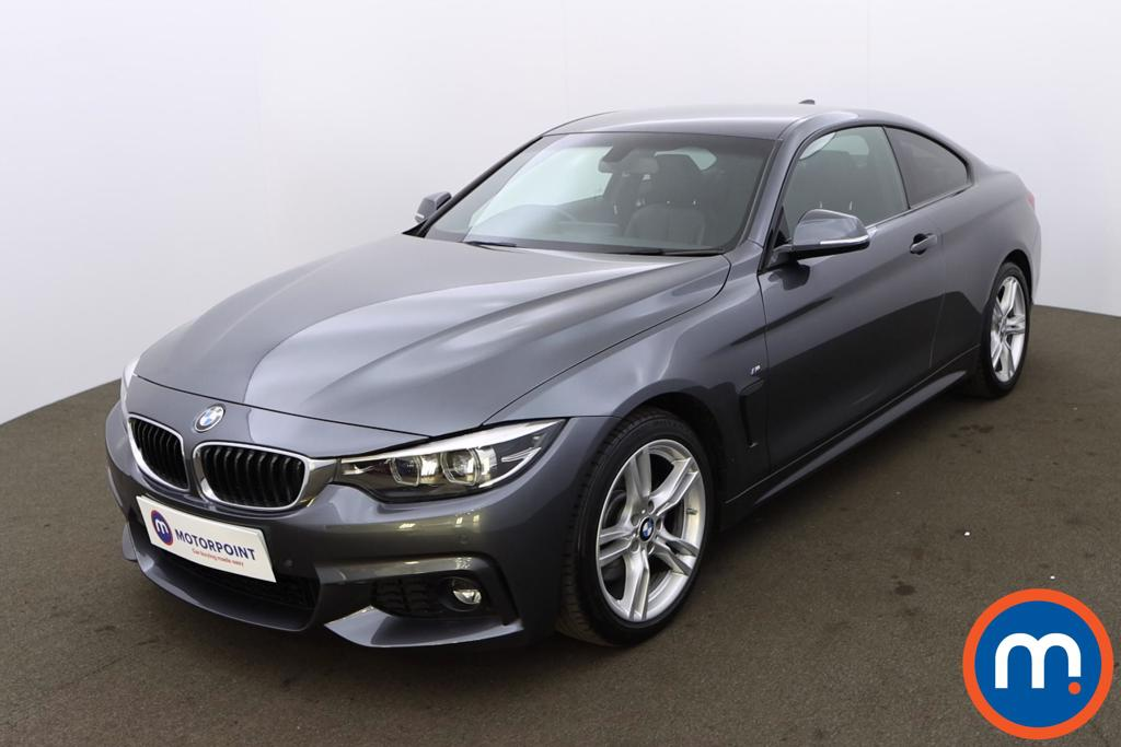 BMW 4 Series 430d M Sport 2dr Auto [Professional Media] - Stock Number 1219743 Passenger side front corner