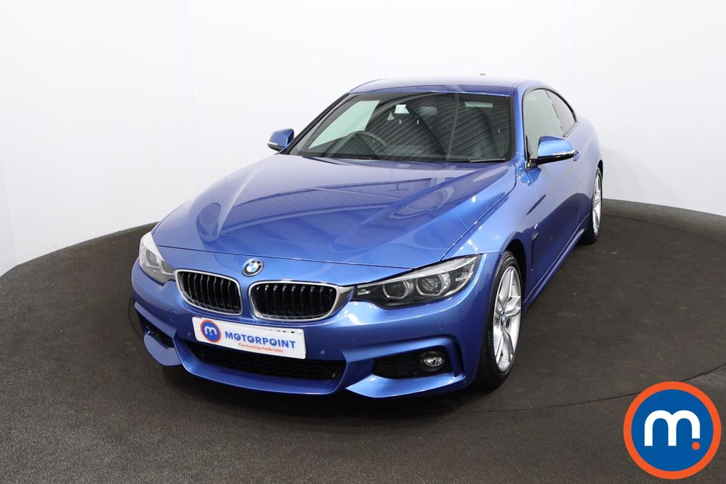 BMW 4 Series 420i M Sport 2dr Auto [Professional Media] - Stock Number 1220010 Passenger side front corner