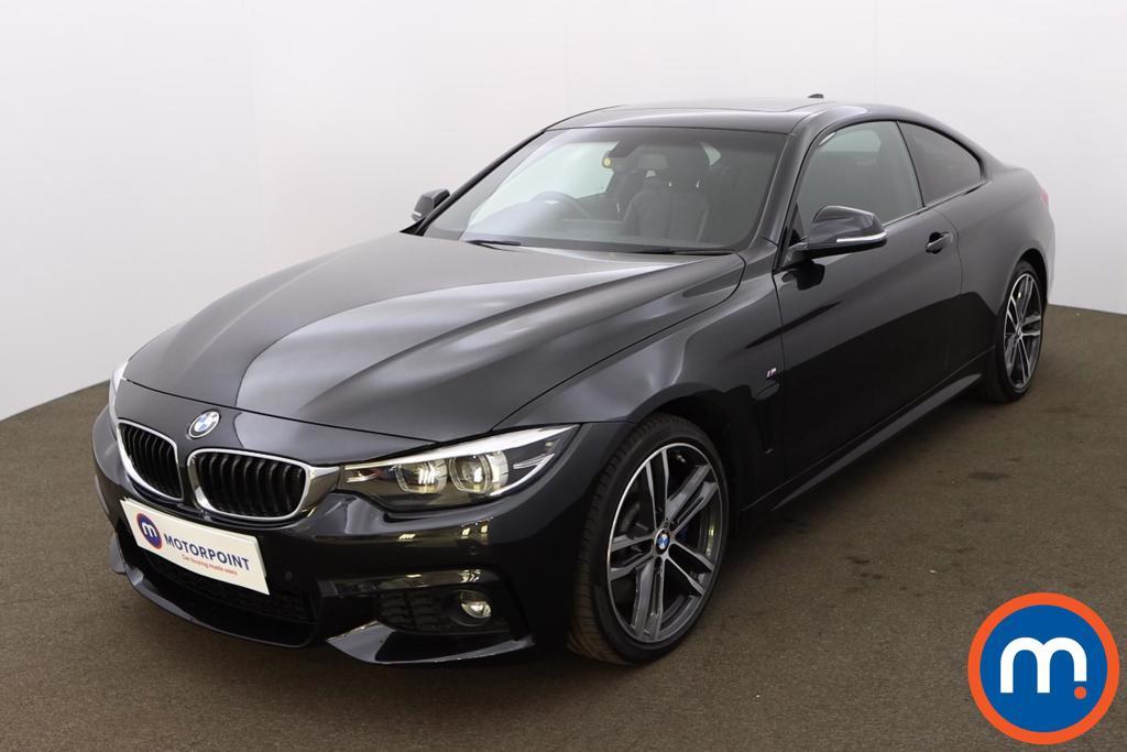BMW 4 Series 430d M Sport 2dr Auto [Professional Media] - Stock Number 1220454 Passenger side front corner