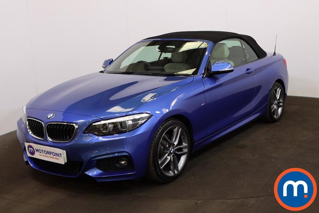 BMW 2 Series 220d M Sport 2dr [Nav] - Stock Number 1221044 Passenger side front corner