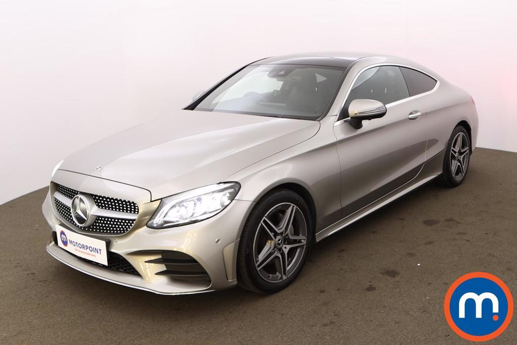 Mercedes-Benz C Class C220d AMG Line Premium Plus 2dr 9G-Tronic - Stock Number 1220527 Passenger side front corner