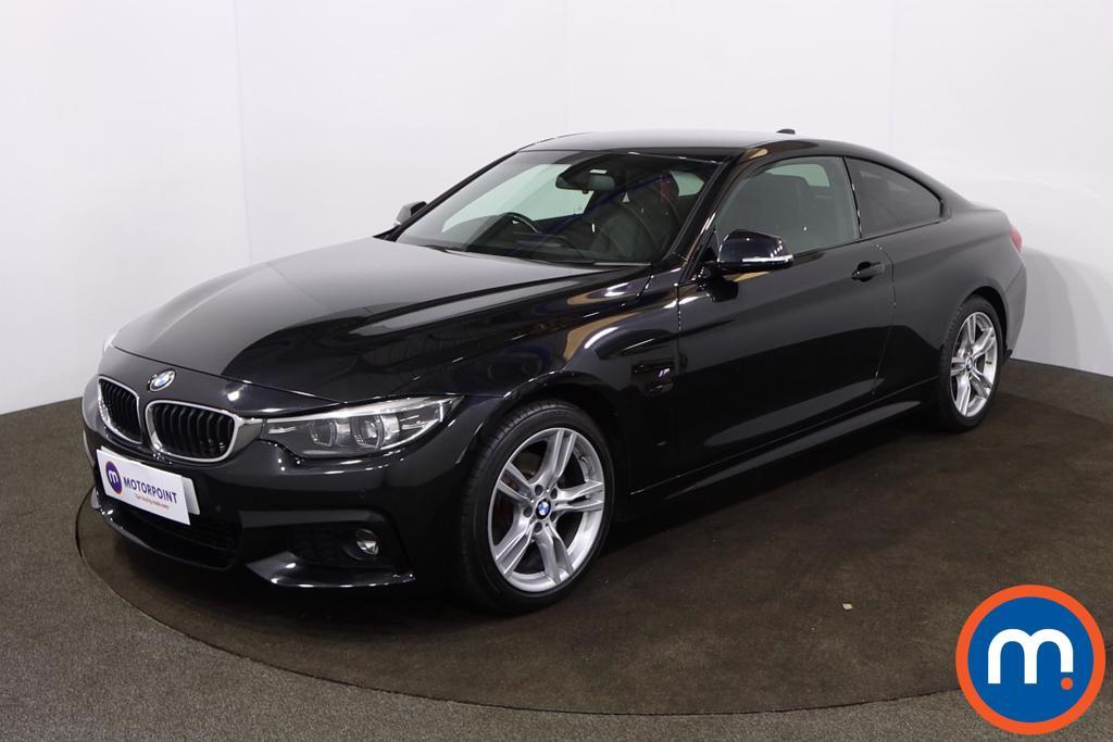 BMW 4 Series 420d [190] M Sport 2dr Auto [Professional Media] - Stock Number 1215719 Passenger side front corner