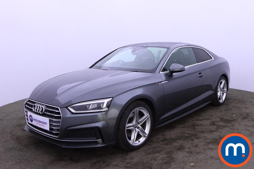 Audi A5 1.4 TFSI S Line 2dr S Tronic - Stock Number 1220833 Passenger side front corner