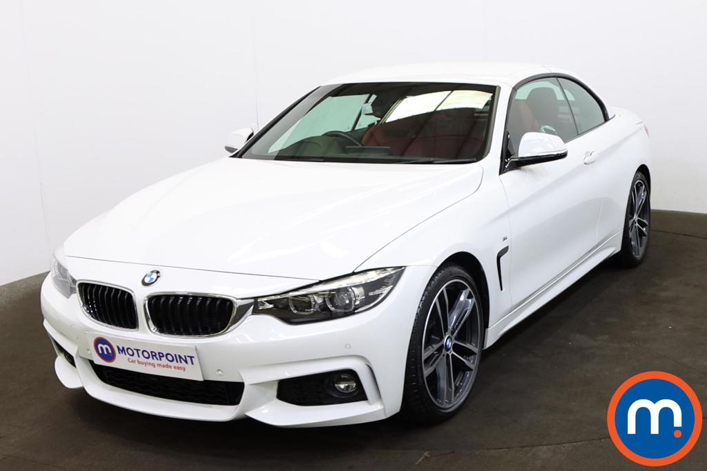 BMW 4 Series 420d [190] M Sport 2dr Auto [Professional Media] - Stock Number 1219379 Passenger side front corner