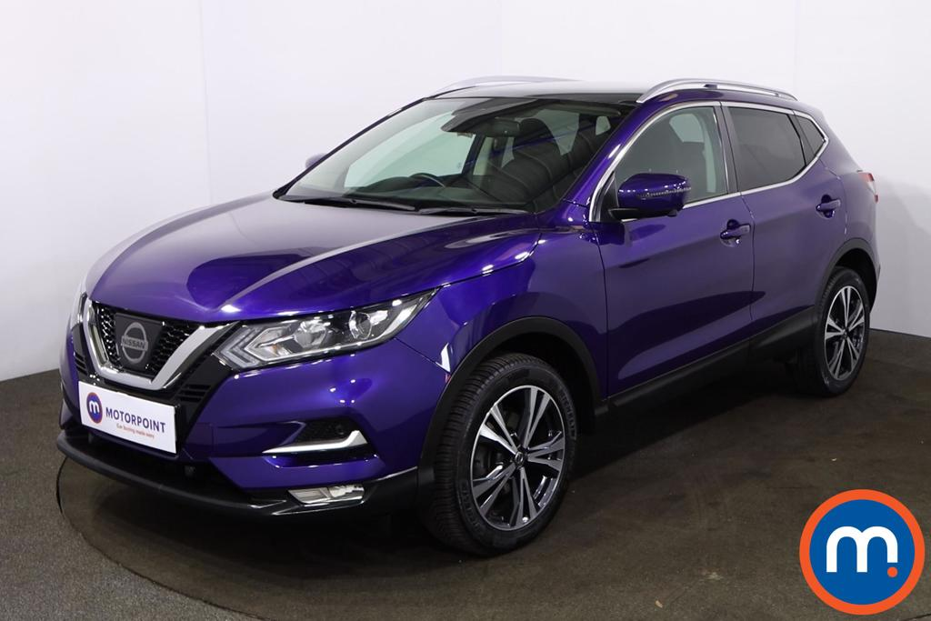 Nissan Qashqai 1.6 dCi N-Connecta [Glass Roof Pack] 5dr - Stock Number 1220261 Passenger side front corner
